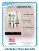 Drill-Aire High Speed Veterinary Dental Air Unit