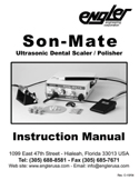 SON-MATE Instruction Manual